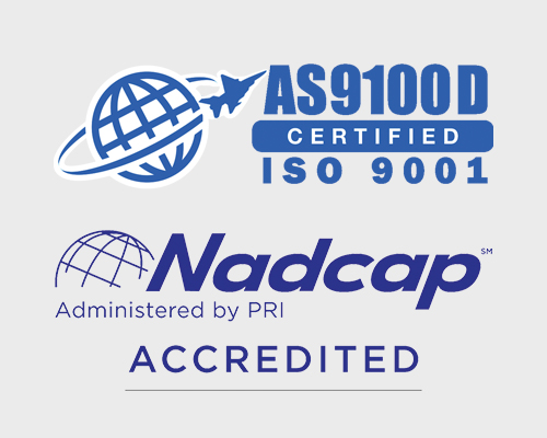 AS9100D and Nadcap Logos